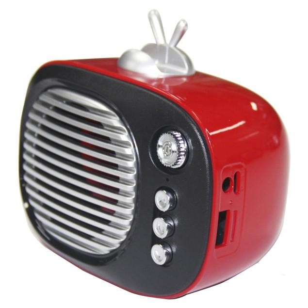 Zummy Retro Bluetooth Speaker Vintage Wireless Speaker with Phone Stand