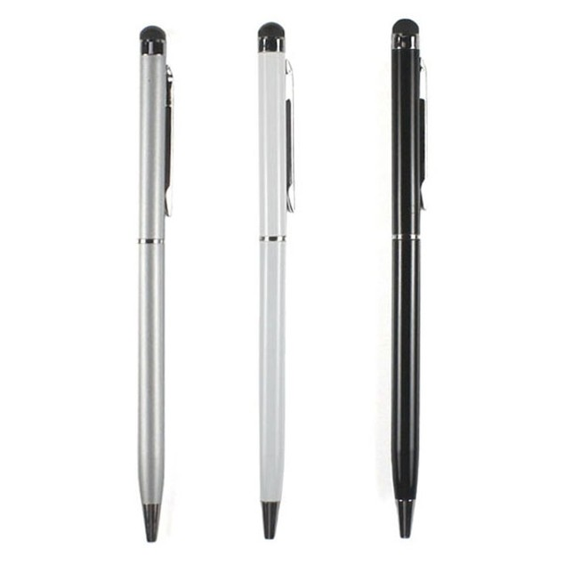 3pc Capacitive Touch Screen Stylus with Ball Point Pen For IPad IPhone IPod