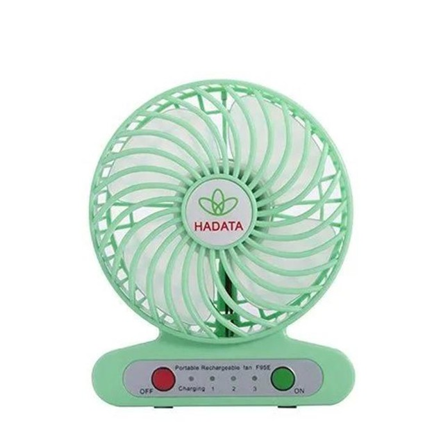 Portable Mini Operated Desk Fan with Rechargeable Battery