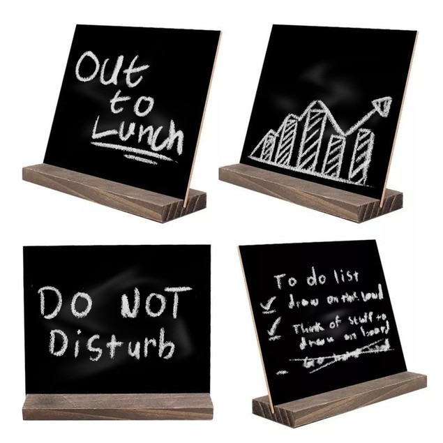 4-Pack Two-Sided Blackboard