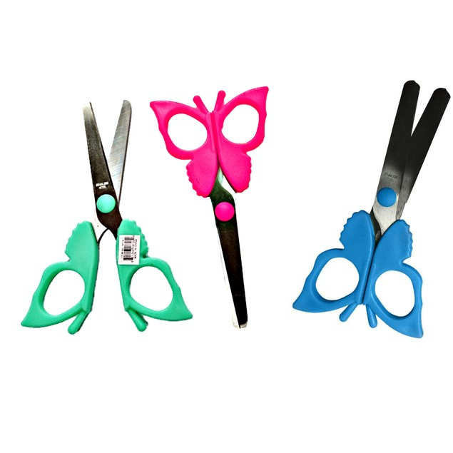 3 Pack Butterfly Scissors