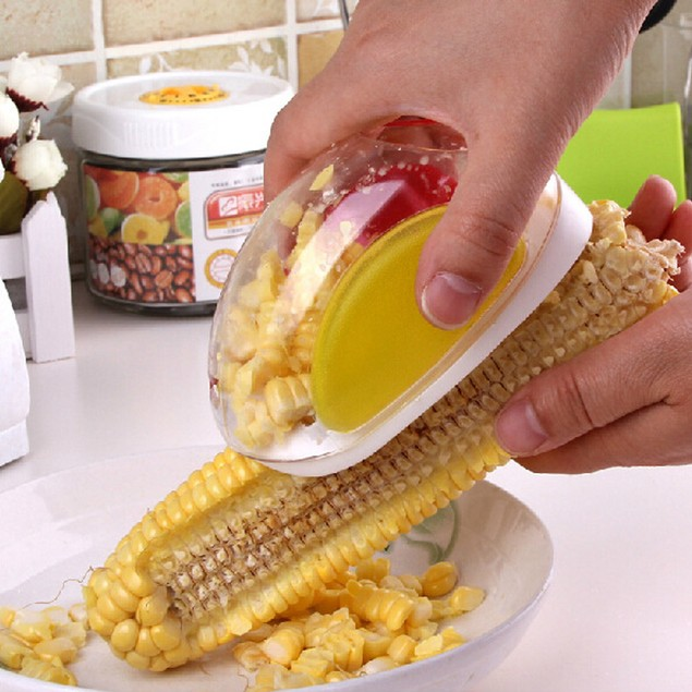Kitchen Cutter Remover Corn Peeler Stripper Thresher Cooking Tools