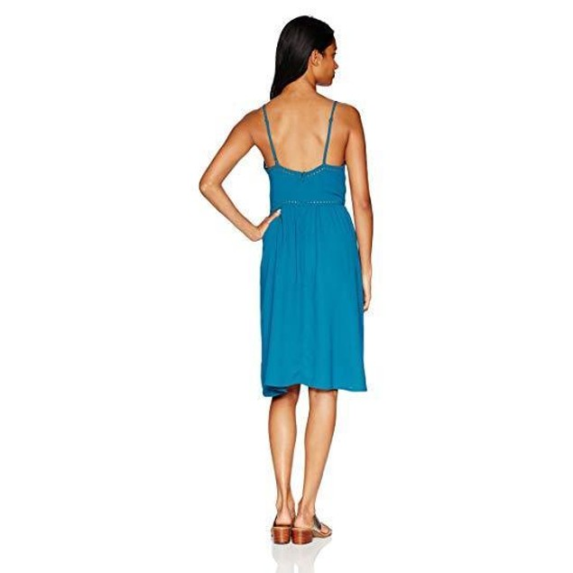Volcom Women's Laser Lite Dress, Stormy Blue, XS