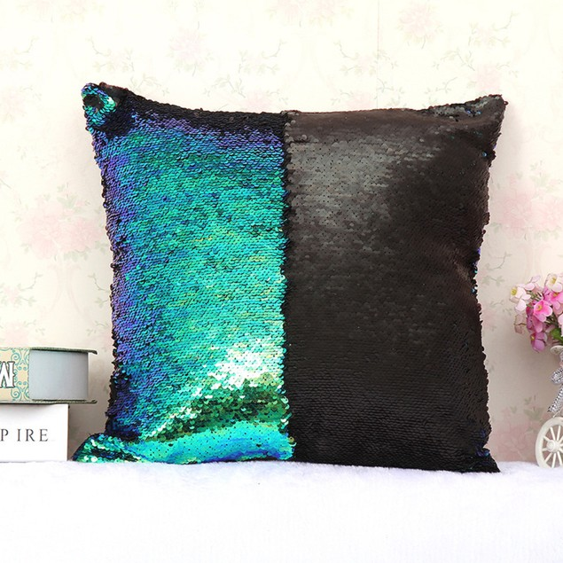 Mermaid Color Changing Sequin Pillow Covers - 10 Styles