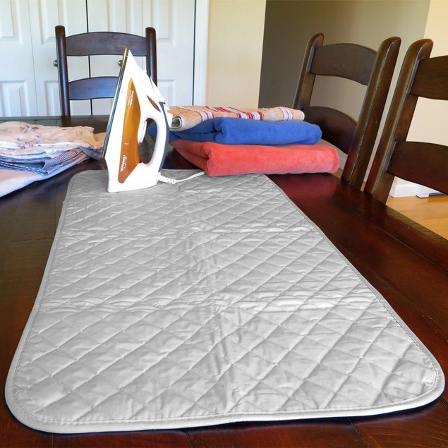 Ironing Blanket/Pad-Magnetic-Heat Resistant Mat-Travel-33 Inch-SaveSpace