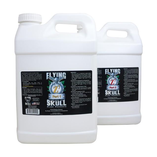 Flying Skull Z7 Enzyme Cleanser, 2.5 gal (part 1 & 2)