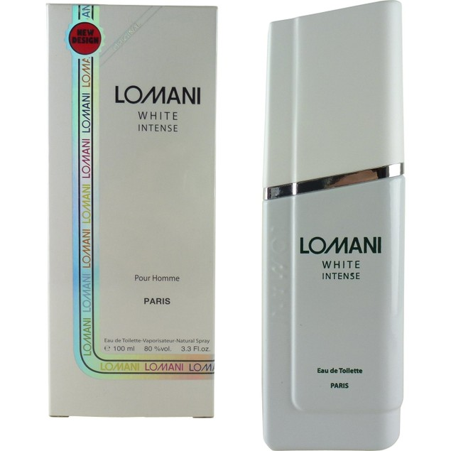 Lomani White Intense Eau De Toilette Spray Cologne for Men, 3.3 oz.