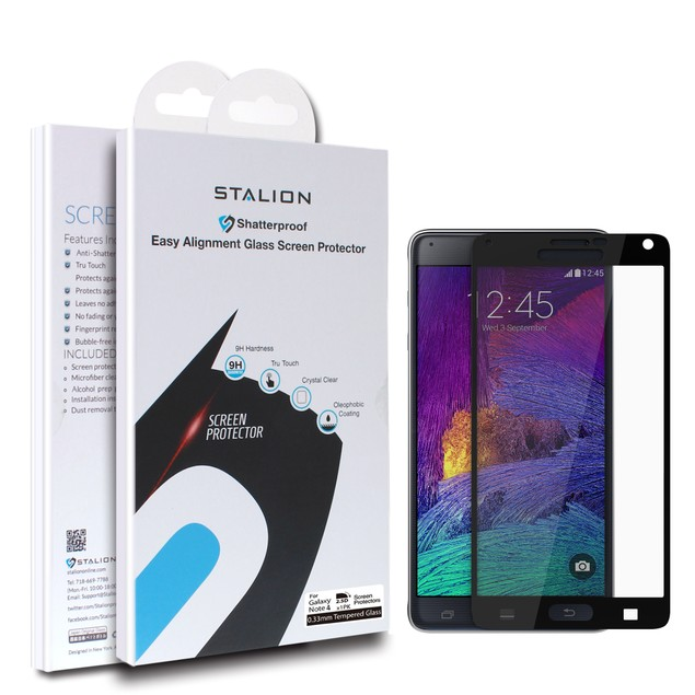 Stalion Shield Premium Screen Protector Film Guard for Galaxy Note 4