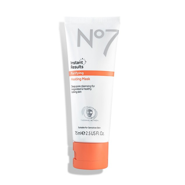No7 Instant Results Purifying Mask, Deeply Cleansed and Moisturized, 2.5 Oz