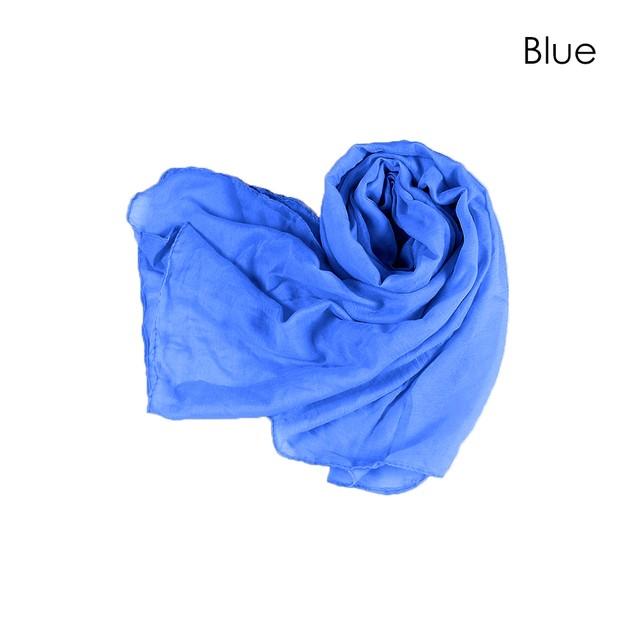 Cotton & Linen Fashion Scarf  -  5 Colors