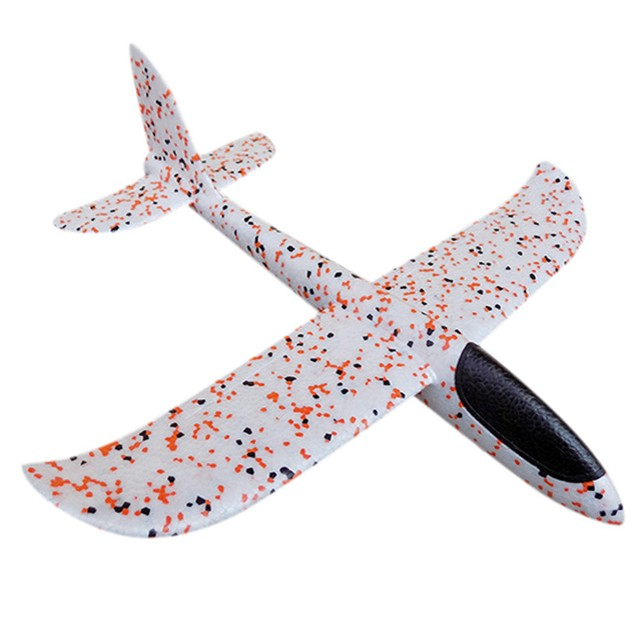 EPP Hand Throws Plane Throw Aircraft Model Outdoor DIY Assembled Toys A