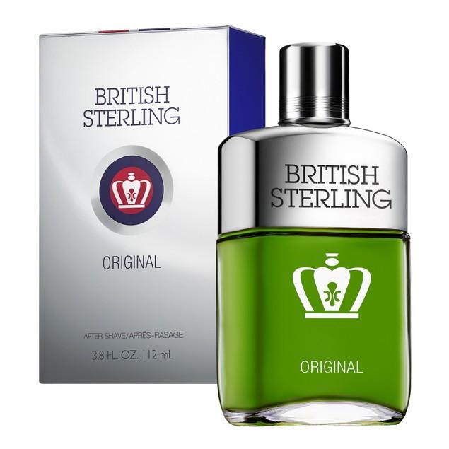 British Sterling After Shave, Designed to Reduce Irritation, 3.8 Fl. Oz.
