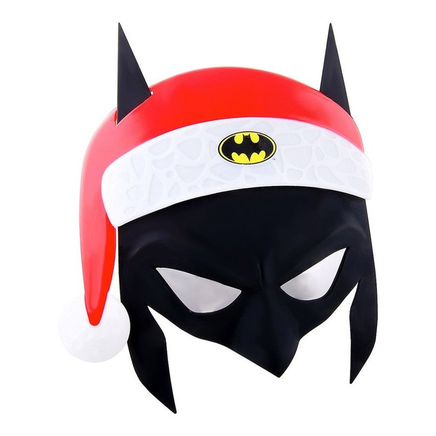 Batman Santa Sun-Staches Officially Licensed DC Comics Bruce Wayne Gotham