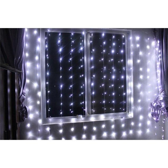 Image® Curtain Light 224led - (PURE White) Led Lights String Fairy Light