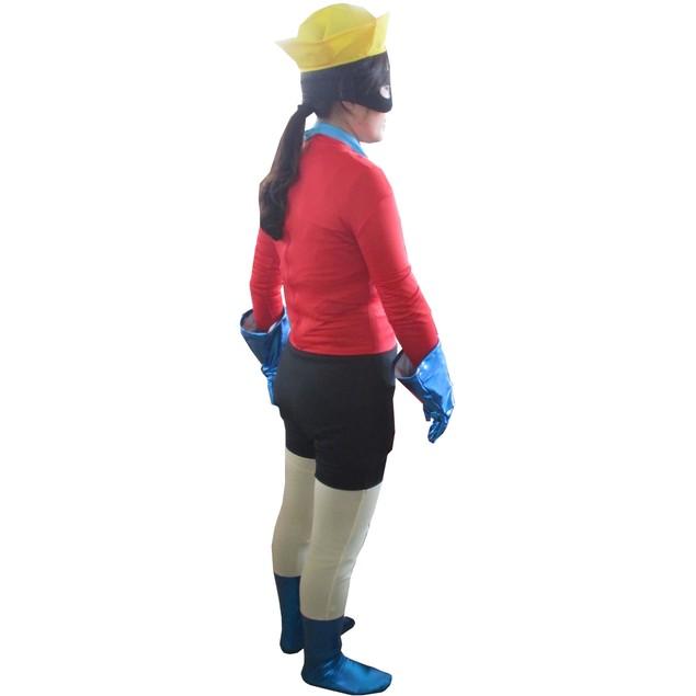 Barnacle Boy Spandex Costume