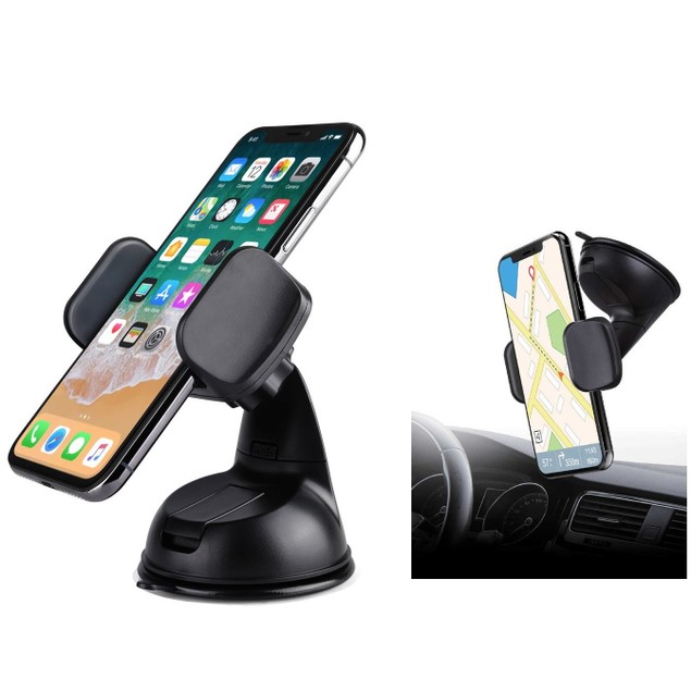 Universal Dashboard & Windshield Car Mount for Smartphones