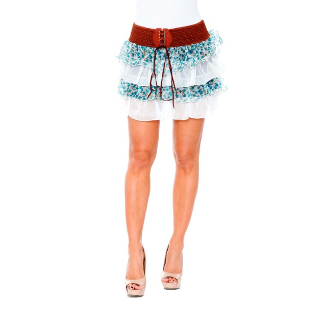 Julie Floral Skirt - 4 Colors