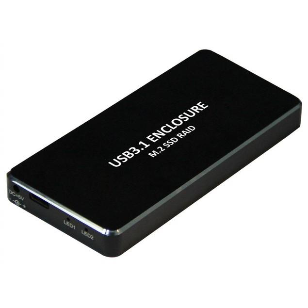 3.0 USB Micro B To MSATA SSD Hard Disk Enclosure