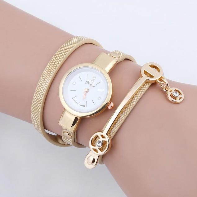 Multi Layer Bracelet Watch