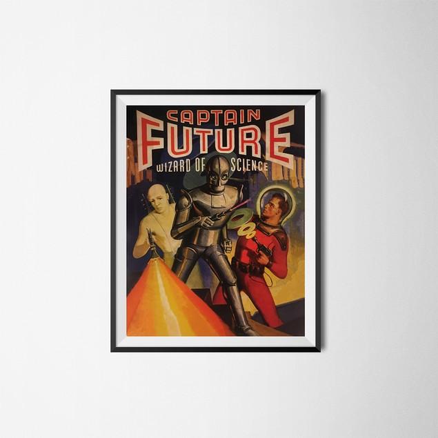 Captain Future Sheldon Leonard Apartment Poster 18 x 24