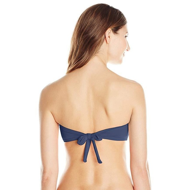 Vince Camuto Women's Jewelry Detail Bandeau Bikini Top Swimsuit SZ: M