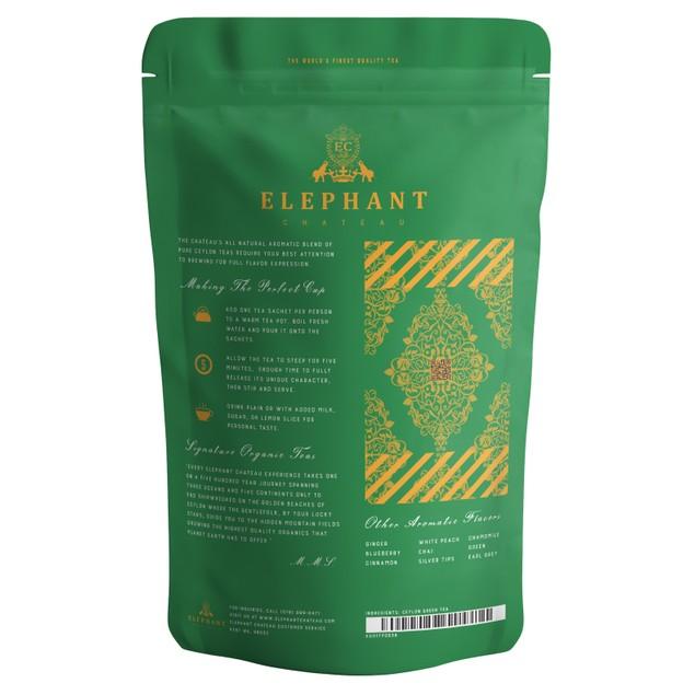 Royal Green Tea (High Grade Ceylon Tea) | Organic Tea | Elephant Chateau