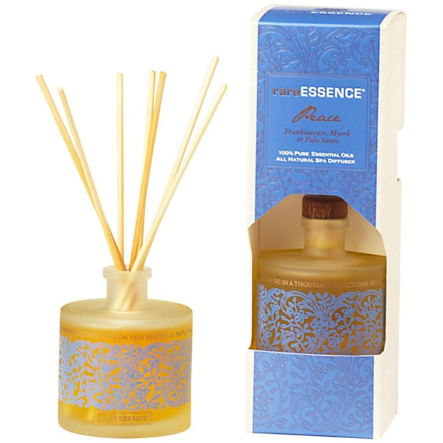 rareEarth 100% Pure Essential Oils All Natural Spa Reed Diffuser, 90ml,