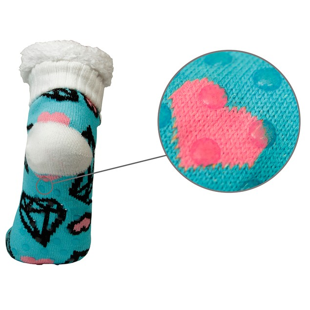 3-Pair Mystery Deal: Women's Ultra-Soft Fluffy Sherpa Anti-Slip Socks