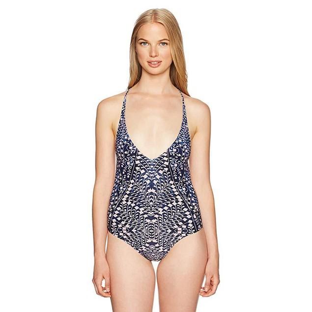 Rip Curl Women's Sun Shadow One Piece Swimsuit, Navy, XL