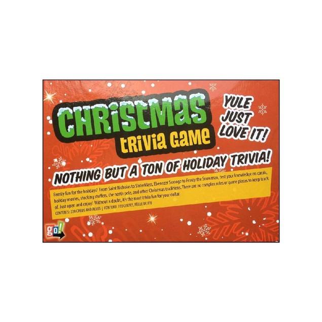 Christmas Trivia Game,  by HONEYC