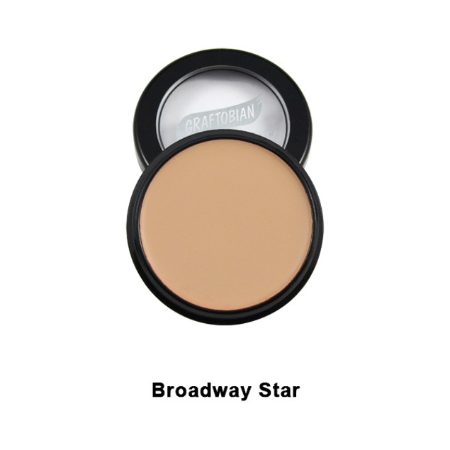 Broadway Star HD Glamour Creme Foundation 5oz. Graftobian USA