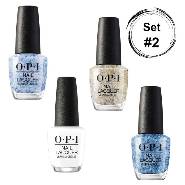 OPI Nail Lacquer Metamorphosis Glitter Collection, 4 Pack