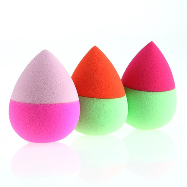 3PCS Makeup Foundation Puff Water Droplets Sponge