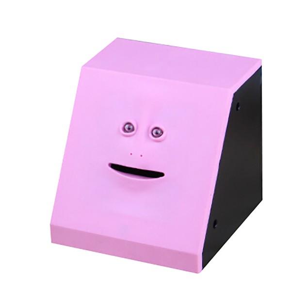 New Face Bank Saving Sensor Coin Money Eating Box FaceBank Fot Kids Gifts