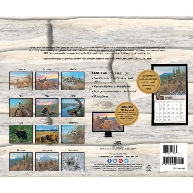 Beyond the Woods Wall Calendar, LANG Wall Calendar by Calendars
