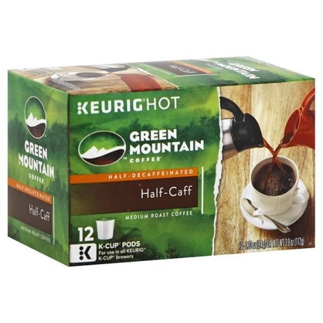 Green Mountain Coffee Half Caff Keurig K-Cups