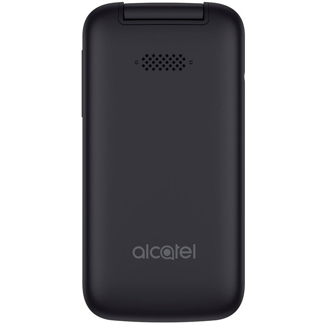 Alcatel SmartFlip 4G LTE WIFI AT&T 4GB Flip-phone (Volcano Black)