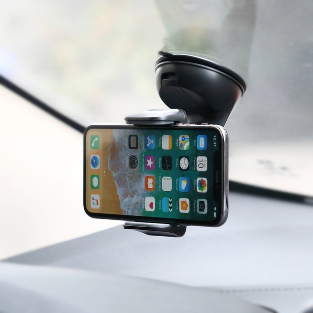 Universal Windshield, Dash & Vent Mount Phone Holder