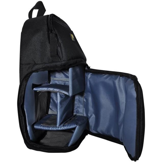 Xit Deluxe Digital Camera/video Sling Style Padded Shoulder Bag Backpack,