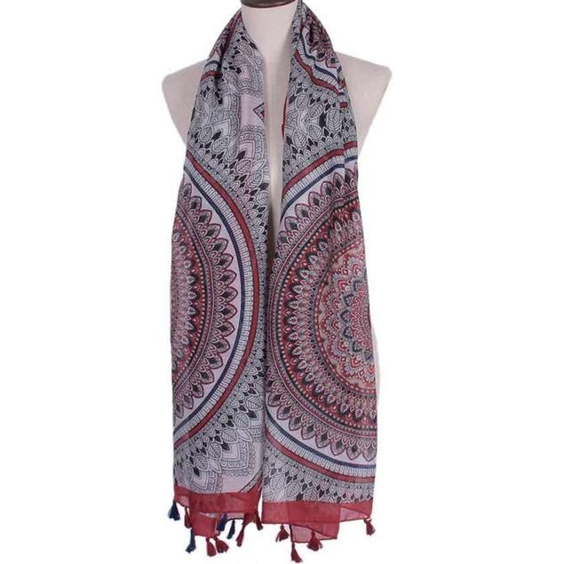New Arrival Women Fashion Printed Satin-Silk Square Scarf Shawl A