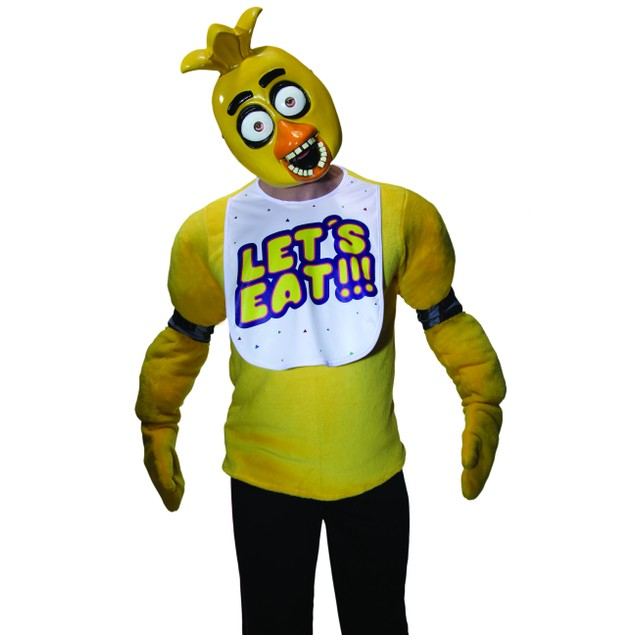 Five Nights At Freddy's Chica 1/2 Mask Adult