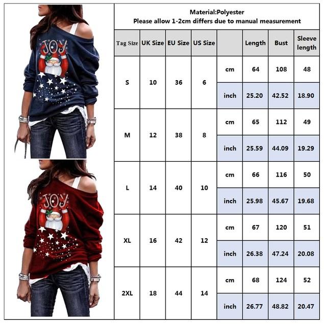 JOY Santa Claus Printing Sweatshirt