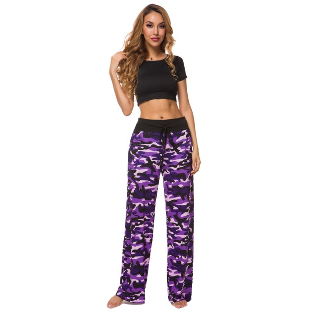 Lilly Posh's Camouflage and Floral/Camouflage Lounge Pants