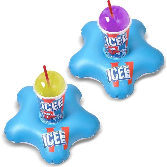 ICEE Inflatable Drink Holder Set (2-Pack)