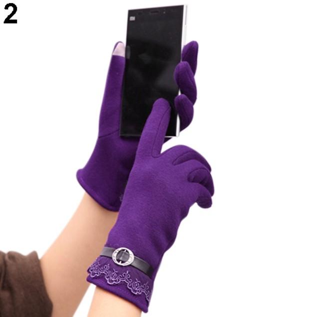 Fashion Women Touch Screen Warm Gloves