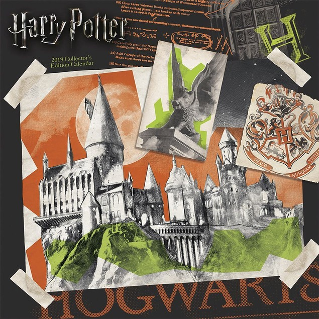 Harry Potter Wall Calendar (French), Fantasy Movies by Calendars