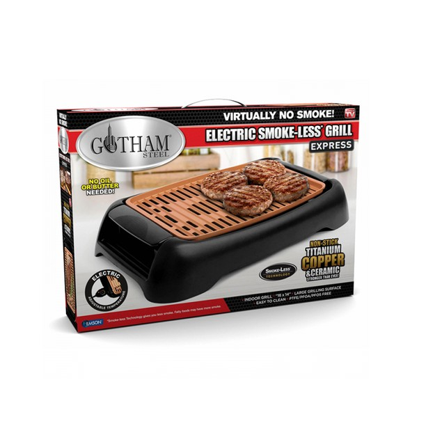 Gotham Steel Express Electric Tabletop Indoor Grill