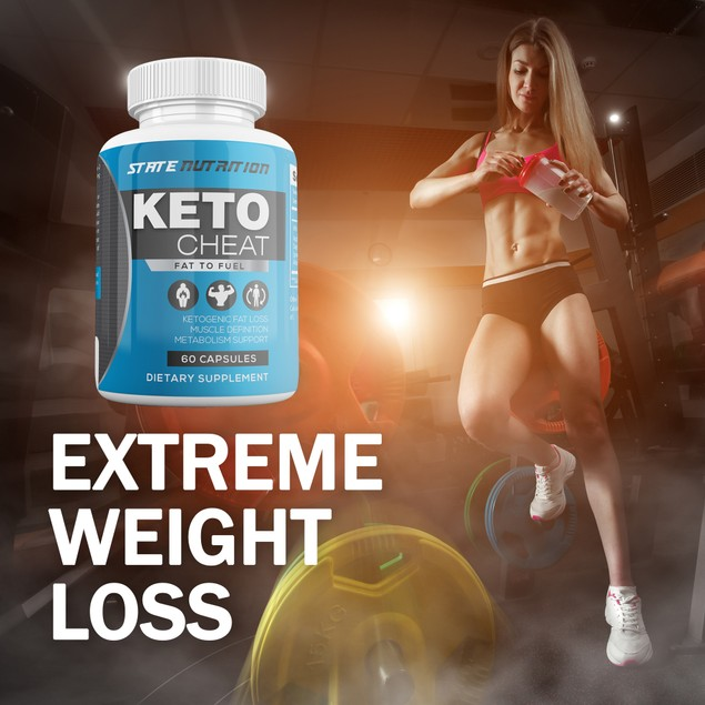 Keto Cheat Weight Loss Support Ketogenic Fat Loss Metabolism Supplement