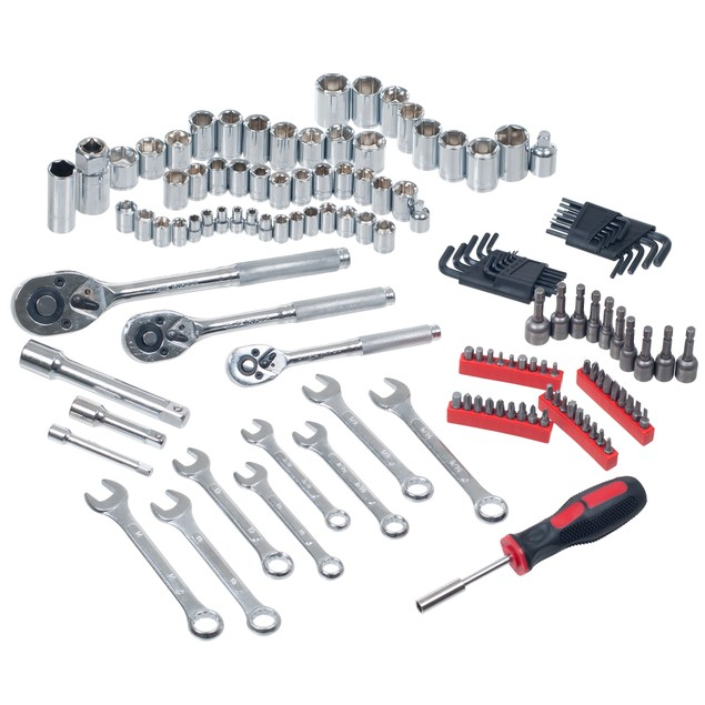 Stalwart 135 pc Hand Tool Set Garage & Home