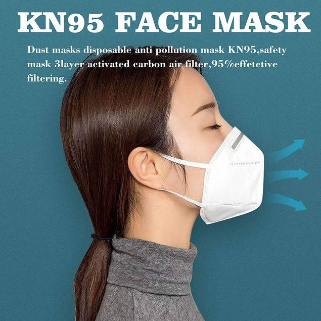 3-Pack KN95 Face Mask